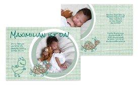 Karten zur Geburt Ihres Kindes mit eigenen Fotos und Text individuell designen - wählen Sie aus einer außergewöhnlichen Auswahl toller Designs.