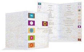 Menükarte Konfirmation mit Bild und Text online gestalten, bestellen & drucken - tolle Designvorlagen - Jetzt kreativ werden! | meine-kartenmanufaktur.de