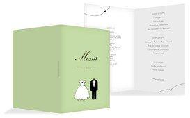 Menükarten Hochzeit aus professionellen Vorlagen gestalten und drucken lassen. Aus anspruchsvollen Designs individuelle Karten für Ihr Hochzeitsmenü erstellen.