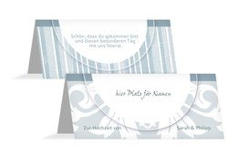 Einmalige Tischkarten für den Hochzeitstisch online gestalten und personalisieren. Platzkarten für Ihre Hochzeit individuell & hochwertig gedruckt.
