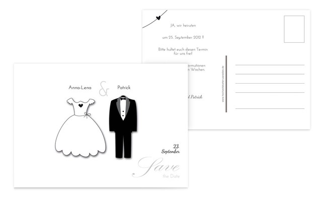 Save the Date dress_and_suit