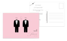 Save the Date suits - Rosa (K25)