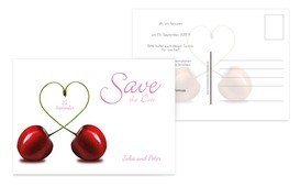 Save the Date Kirsche - Pink (K25)
