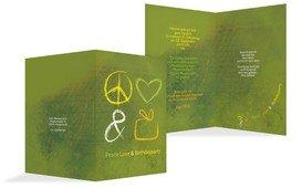 Einladungskarte Birthdayparty - Grün (K20)