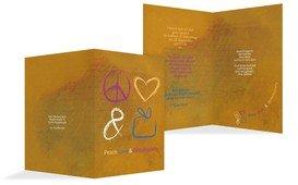 Einladungskarte Birthdayparty - Gelb (K20)