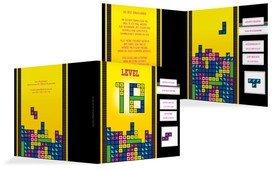 Einladung zum 18. Geburtstag 8bit Game - Gelb (K24)