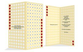 Geburtstagskarte Zahlenspiel - Champagne (K35)