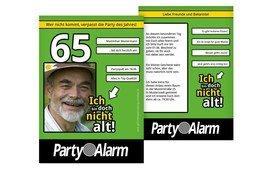 Geburtstagseinladung Ich bin doch nicht alt! Foto 65 - Grün (K31)