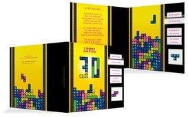 Einladung zum Geburtstag 8bit Game 30 - Gelb (K24)