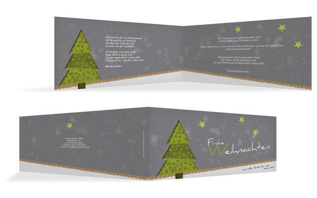weihnachtskarte gesch ftlich farbb umchen kartenmanufaktur. Black Bedroom Furniture Sets. Home Design Ideas