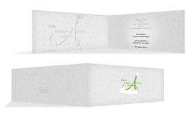 Weihnachts Grußkarte geschäftlich A_Mütze - Grün (K33)