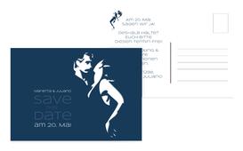 Save the Date Tango - Dunkelblau (K25)