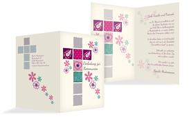 einladungskarten zur kommunion selbst erstellen & drucken, Einladung