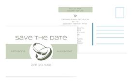 Save the Date Ringeband - Grün (K25)