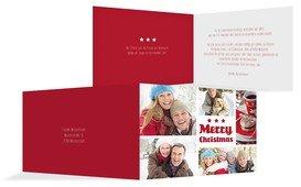 Weihnachtsgrußkarte Bilder - Rot (K19)