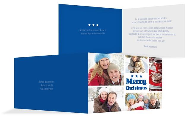 Weihnachtsgrußkarte Bilder