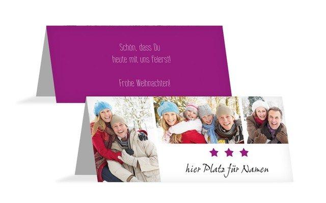 Weihnachtstischkarte Bilder