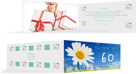 Einladung zum Geburtstag Lebensfreude Foto 60 - Grün (K33)