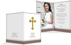 einladungskarten konfirmation selbst erstellen & drucken, Einladungen