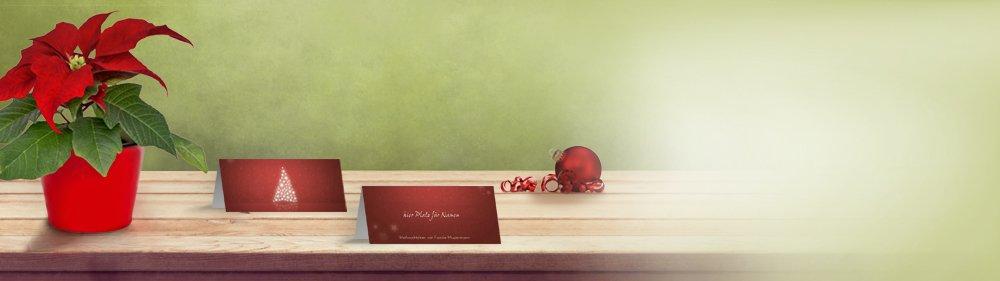 tischkarten weihnachten online selbst gestalten. Black Bedroom Furniture Sets. Home Design Ideas